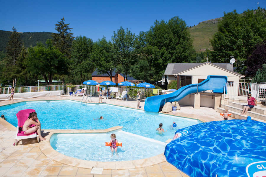 piscine camping Champ d'ayres